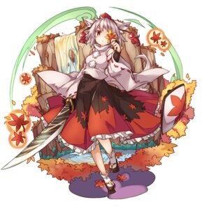 Rating: Safe Score: 27 Tags: animal_ears inubashiri_momiji kazana_(sakuto) sword tail touhou User: Mr_GT