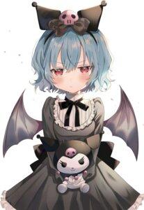 Rating: Safe Score: 32 Tags: dress kuromi_(sanrio) onegai_my_melody remilia_scarlet satoupote touhou wings User: Mr_GT
