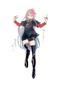 Rating: Safe Score: 17 Tags: ia_(vocaloid) kotoyama thighhighs vocaloid User: saemonnokami