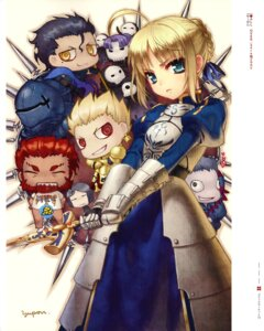 Rating: Safe Score: 8 Tags: assassin_(fate/zero) berserker_(fate/zero) caster_(fate/zero) chibi fate/stay_night fate/zero gilgamesh_(fsn) lancer_(fate/zero) rider_(fate/zero) saber type-moon waver_velvet yuupon User: Velen
