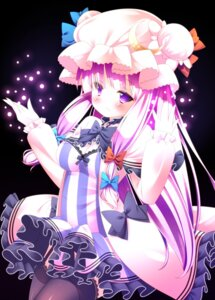 Rating: Safe Score: 18 Tags: cleavage patchouli_knowledge sefa thighhighs touhou User: 椎名深夏