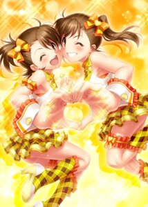Rating: Safe Score: 32 Tags: futami_ami futami_mami heels the_idolm@ster zen User: Mr_GT