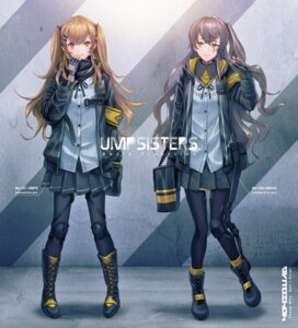 Rating: Questionable Score: 18 Tags: girls_frontline makkuro pantyhose ump45_(girls_frontline) ump9_(girls_frontline) User: Dreista