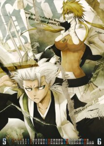 Rating: Questionable Score: 16 Tags: bleach calendar cleavage halibel hitsugaya_toushirou photoshop User: zelgadisexe