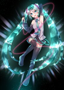 Rating: Safe Score: 26 Tags: cosplay hatsune_miku houseki_no_kuni pantsu shimapan sll thighhighs vocaloid User: charunetra