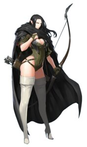 Rating: Safe Score: 21 Tags: cleavage elf heels leotard pointy_ears tagme thighhighs weapon User: Radioactive