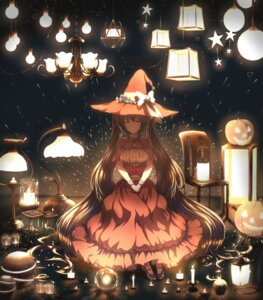 Rating: Safe Score: 48 Tags: dress halloween hatsune_miku isumi_(yangyan) vocaloid witch User: Mr_GT
