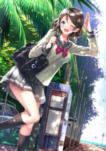 Rating: Safe Score: 40 Tags: love_live!_sunshine!! seifuku swordsouls watanabe_you User: Mr_GT