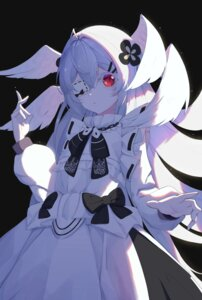 Rating: Safe Score: 15 Tags: dress eyepatch lolita_fashion starlan wings User: Mr_GT