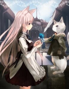 Rating: Safe Score: 51 Tags: animal_ears h016 neko User: fairyren