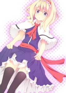 Rating: Safe Score: 9 Tags: alice_margatroid lulubell thighhighs touhou User: Radioactive
