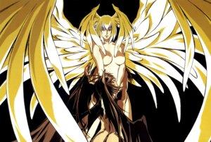Rating: Questionable Score: 3 Tags: asuka_lan devilman devilman_lady devilman_lady_(character) fudou_jun naked wings User: Radioactive