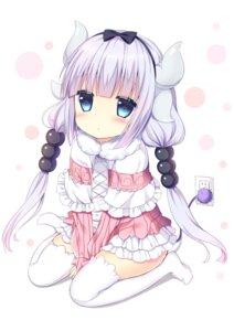 Rating: Safe Score: 23 Tags: horns kanna_kamui kobayashi-san_chi_no_maid_dragon shibainu_niki tail thighhighs User: Nico-NicoO.M.
