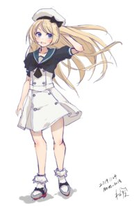 Rating: Safe Score: 10 Tags: jervis_(kancolle) kantai_collection neve sketch uniform User: Genex
