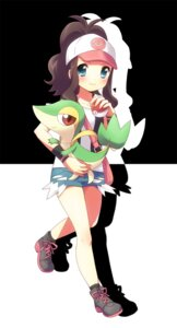 Rating: Safe Score: 18 Tags: mani pokemon snivy touko_(pokemon) User: Radioactive