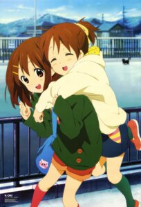 Rating: Safe Score: 40 Tags: hirasawa_ui hirasawa_yui horiguchi_yukiko k-on! User: blooregardo