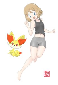 Rating: Safe Score: 15 Tags: bike_shorts fennekin pokemon pokemon_xy serena_(pokemon) tax2rin User: Radioactive