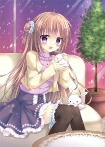 Rating: Safe Score: 47 Tags: kohinata_hoshimi sweater tagme thighhighs User: Twinsenzw