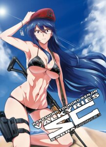 Rating: Questionable Score: 41 Tags: bikini cleavage gun megane ore-halcon swimsuits underboob User: mash