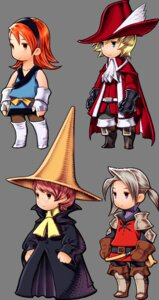 Rating: Safe Score: 5 Tags: arc armor black_mage chibi final_fantasy final_fantasy_iii ingus luneth monk_(final_fantasy) pantyhose red_mage refia thighhighs transparent_png warrior_(final_fantasy) yoshida_akihiko User: Radioactive
