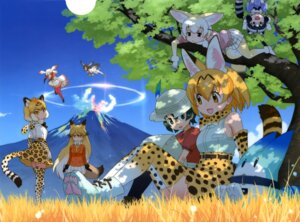 Rating: Safe Score: 28 Tags: animal_ears common_raccoon crested_ibis ezo_red_fox fennec hawk_(kemono_friends) jaguar_(kemono_friends) kaban_(kemono_friends) kemono_friends lucky_beast pantyhose serval sweater tail thighhighs wings yoshizaki_mine User: drop