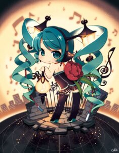 Rating: Safe Score: 31 Tags: hatsune_miku neko_sakana vocaloid User: blooregardo