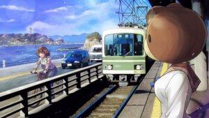 Rating: Safe Score: 13 Tags: endcard maiharu_hiromi minami_kamakura_koukou_joshi_jitenshabu okamoto_lynn pantyhose sandy_mcdougal seifuku sweater User: Iketani_RC
