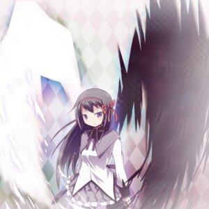 Rating: Safe Score: 16 Tags: akemi_homura puella_magi_madoka_magica tatami wings User: Radioactive