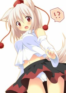 Rating: Questionable Score: 49 Tags: animal_ears inubashiri_momiji pantsu shimofuri_oniku tail touhou User: 椎名深夏