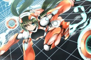 Rating: Safe Score: 32 Tags: armor burakyan cleavage heterochromia mecha_musume User: Kaixa