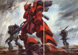 Rating: Safe Score: 2 Tags: char's_counterattack gundam mecha sazabi suemi_jun User: Radioactive