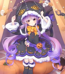 Rating: Questionable Score: 13 Tags: halloween hikawa_kyouka pointy_ears princess_connect princess_connect!_re:dive shimon_(31426784) User: Dreista