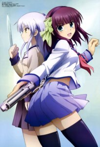 Rating: Safe Score: 69 Tags: angel_beats! gun seifuku tenshi thighhighs toya_kento weapon yurippe User: Share