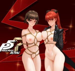 Rating: Explicit Score: 30 Tags: azto_dio bondage bottomless breasts naked niijima_makoto nipples no_bra open_shirt persona_5 pussy uncensored yoshizawa_kasumi User: BattlequeenYume