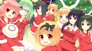 Rating: Safe Score: 13 Tags: christmas megane yuzutei User: blooregardo