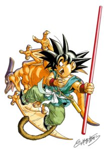 Rating: Safe Score: 4 Tags: dragon_ball son_goku toriyama_akira User: OZKai2015