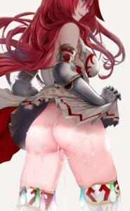 Rating: Explicit Score: 80 Tags: armor ass cum dress godguard_brodia granblue_fantasy hews nopan skirt_lift thighhighs User: Mr_GT