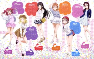 Rating: Safe Score: 40 Tags: dress heels kurosawa_dia kurosawa_ruby love_live!_sunshine!! ohara_mari sakurauchi_riko sweater takami_chika watanabe_you User: drop