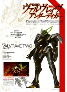 Rating: Safe Score: 6 Tags: ishiwata_makoto kakumeiki_valvrave mecha User: drop