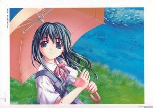 Rating: Safe Score: 9 Tags: boku_to_bokura_no_natsu fue seifuku User: MirrorMagpie