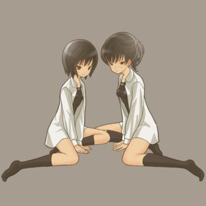 Rating: Safe Score: 5 Tags: amagami dress_shirt m-pin nanasaki_ai school_swimsuit swimsuits thighhighs tsukahara_hibiki User: Radioactive