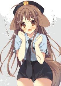 Rating: Safe Score: 46 Tags: animal_ears police_uniform shimofuri_oniku tail uniform User: fairyren