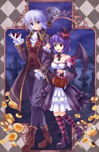 Rating: Safe Score: 13 Tags: izayoi_sakuya pico_(artist) remilia_scarlet touhou User: Mr_GT