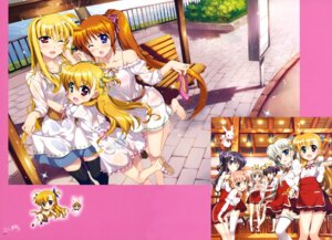 Rating: Questionable Score: 32 Tags: asteion bra chibi corona_timir dress fate_testarossa fujima_takuya heels heterochromia mahou_shoujo_lyrical_nanoha mahou_shoujo_lyrical_nanoha_vivid miura_rinaldi pantsu rio_wezley sacred_heart see_through skirt_lift takamachi_nanoha thighhighs vivid_strike! vivio waitress wet wet_clothes yumina_enclave User: drop