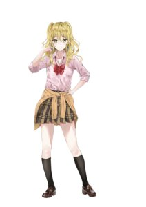Rating: Safe Score: 28 Tags: aihara_yuzu_(citrus) citrus_(manga) fujisaki_ribbon seifuku sweater User: Spidey