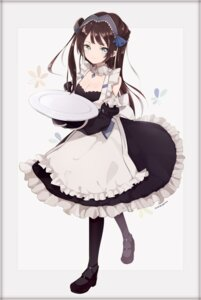 Rating: Safe Score: 27 Tags: azur_lane captain_yue cleavage heels maid newcastle_(azur_lane) User: Nepcoheart