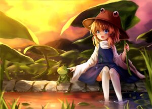 Rating: Safe Score: 24 Tags: henrytz moriya_suwako thighhighs touhou User: Mr_GT