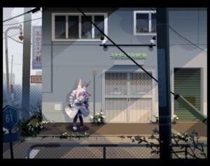 Rating: Safe Score: 10 Tags: animal_ears bunny_ears garter hololive landscape pantyhose usada_pekora yokoe_(mealtime) User: Dreista