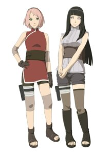 Rating: Safe Score: 22 Tags: bandages bike_shorts haruno_sakura hyuuga_hinata naruto thighhighs User: Radioactive