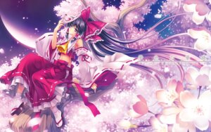 Rating: Safe Score: 29 Tags: hakurei_reimu riv touhou wallpaper User: blooregardo